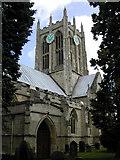 TA0432 : Church of St Mary the Virgin, Hallgate, Cottingham by Bernard Sharp