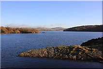 SH6737 : Llyn Trawsfynydd (Lake Trawsfynydd) by Jeff Buck