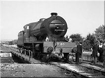O0974 : Steam locomotive on Drogheda turntable by The Carlisle Kid