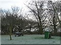 SE9736 : Walkington Wold picnic site in winter [2] by Christine Johnstone