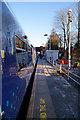 NS5263 : Crookston railway station by Thomas Nugent
