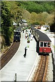 SH6441 : Tan-y-bwlch Station by M J Richardson