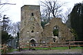 TQ8212 : Remains of Old St Helen's church, Hastings by Julian P Guffogg