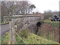 NY7586 : Road Bridge over Disused Railway Line by Les Hull