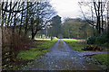 SJ4394 : The road into the Knowsley Estate from Croxteth Lodge by Ian Greig