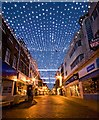 TA1028 : Christmas lights in Whitefriargate, Hull by Paul Harrop