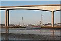 TM1741 : Through the Orwell Bridge by Ian Capper