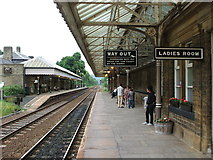 SD9926 : Hebden Bridge railway station, Yorkshire by Nigel Thompson