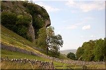 SD9768 : Kilnsey Crag by John Sparshatt