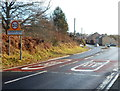 SO6514 : Start of 30mph speed limit at the northern edge of Cinderford by Jaggery