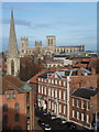 SE6051 : York: the minster from Clifford's Tower by Chris Downer