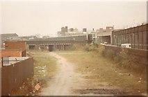 SO9199 : Wednesfield Road bridge by John Winder