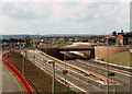 SJ9142 : Normacot junction of A50 (under construction) by Chris Beaver
