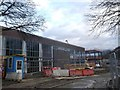 TQ2672 : Old Building, New Building - Burntwood School, Wandsworth by David Anstiss