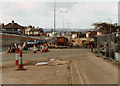 SJ9242 : Looking West from A50 Meir tunnel entrance (during construction) by Chris Beaver