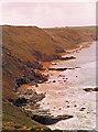 SW8466 : Coast south of Stem Point by Stuart Logan