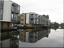 NT2472 : Canalside houses at Fountainbridge by M J Richardson