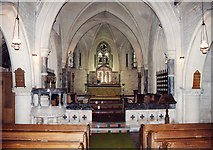 SU3981 : St Mary, Fawley - East end by John Salmon