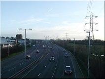 TQ4384 : A406 North Circular towards Blackwall Tunnel by David Anstiss