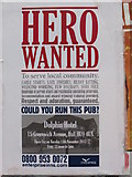 TA1431 : Hero Wanted to run the Dolphin on Greenwich Avenue by Ian S