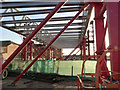 SK5739 : The bridge takes shape (3)  by Alan Murray-Rust