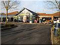 SP3457 : Southbound M40, Warwick Service Area by David Dixon