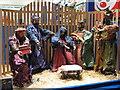 SO8554 : Nativity scene by Philip Halling
