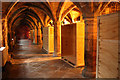 SK9771 : Greyfriars Undercroft by Richard Croft
