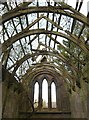 NT9250 : Inside Fishwick Mortuary Chapel by Walter Baxter