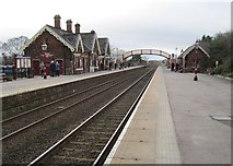 NY6820 : Appleby (West) railway station, Cumbria by Nigel Thompson