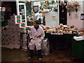 SP5106 : Butcher's boy, Covered Market, Oxford by Vieve Forward