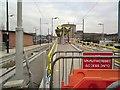 SJ9399 : Ashton under Lyne Metrolink Platforms by Gerald England