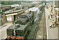 SO7192 : Bridgnorth station, Severn Valley Railway 1972 by Ben Brooksbank