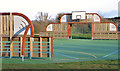 J2764 : Basketball court, Lisburn by Albert Bridge