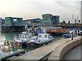 SZ0090 : Poole Harbour, Poole Bridge by David Dixon
