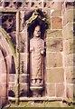 SJ7049 : St Chad, Wybunbury - Statue by John Salmon