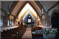 SO5932 : Interior, All Saints' church, Brockhampton by Julian P Guffogg