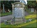 NS4075 : The Gilfillan Memorial by Lairich Rig