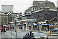TQ3381 : Broad Street station exterior, 1983 by Ben Brooksbank