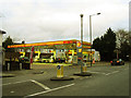 TQ4077 : Shell filling station, Shooters Hill by Stephen Craven