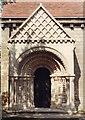 SK5478 : Steetley Chapel of All Saints - Doorway by John Salmon