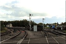 SO6302 : Lydney Junction Railway Station by nick macneill