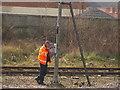 SK9135 : Calling the signalman by Bob Harvey
