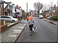 SD8004 : Midday walk, Pine Avenue by Jonathan Wilkins