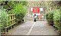 J3269 : The Clement Wilson footbridge, Newforge, Belfast (2) by Albert Bridge