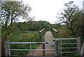 TQ3591 : Bridge over the River Lea by N Chadwick