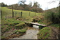 ST7561 : Footbridge in Horsecombe Vale by Guy Wareham