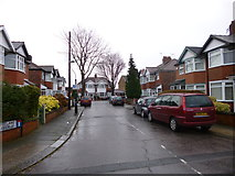 SJ8195 : Firswood, Christmas Day 2012 by Mike Faherty