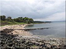 J4782 : View west across Swineley Bay at Crawfordsburn by Eric Jones
