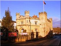 SP6934 : The Old Gaol, Market Hill by Matthew Hatton